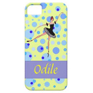 Odile Black Swan  tutu Ballerina - Swan Lake iPhone SE/5/5s Case