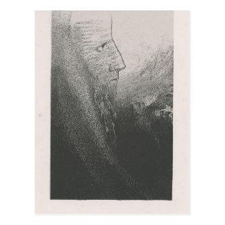 Odilon Redon-Anthony Help me O my God plate 2 Postcard