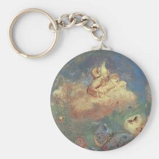 Odilon Redon- Apollo's Chariot Keychains