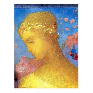 Odilon Redon- Beatrice Postcard