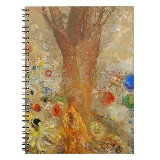 Odilon Redon Buda en su juventud Cuadernos