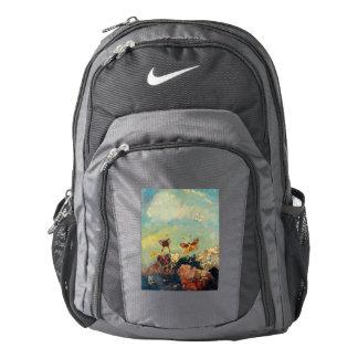 Odilon Redon Butterflies Vintage Symbolism Art Backpack
