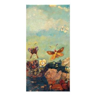 Odilon Redon Butterflies Vintage Symbolism Art Card