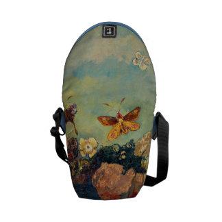 Odilon Redon Butterflies Vintage Symbolism Art Courier Bag