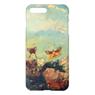 Odilon Redon Butterflies Vintage Symbolism Art iPhone 8 Plus/7 Plus Case