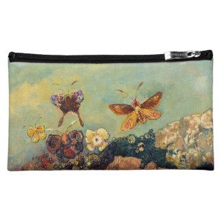 Odilon Redon Butterflies Vintage Symbolism Art Makeup Bag