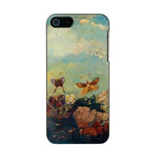 Odilon Redon Butterflies Vintage Symbolism Art Metallic Phone Case For iPhone SE/5/5s