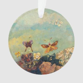 Odilon Redon Butterflies Vintage Symbolism Art Ornament