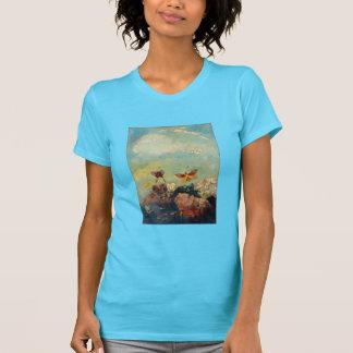 Odilon Redon Butterflies Vintage Symbolism Art T-Shirt