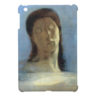 Odilon Redon- Closed Eyes Case For The iPad Mini
