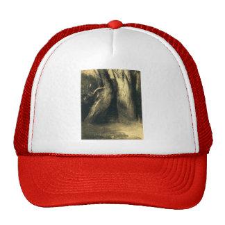 Odilon Redon- dos árboles Gorros