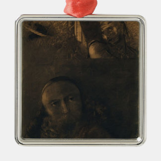 Odilon Redon- Faust and Mephistopheles Christmas Tree Ornament