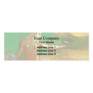Odilon Redon- Flower of Blood Double-Sided Mini Business Cards (Pack Of 20)