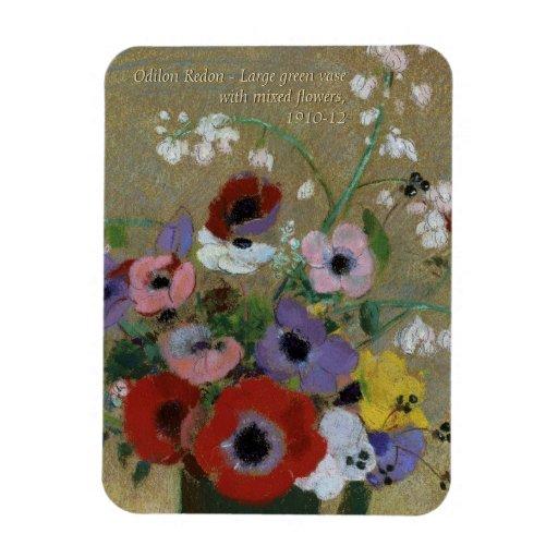 Odilon Redon Flowers CC0551 Fridge Art Collection