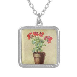 Odilon Redon- Geraniums Pendant