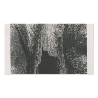 Odilon Redon- I plunged into solitude Double-Sided Standard Business Cards (Pack Of 100)