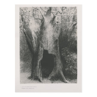 Odilon Redon- I plunged into solitude Postcards
