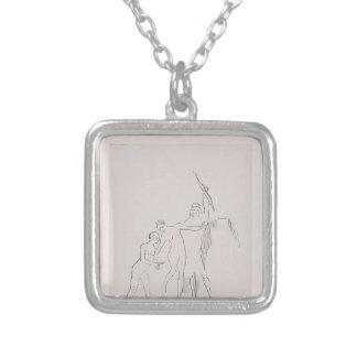 Odilon Redon- inmediatamente tres diosas se presen Collares Personalizados