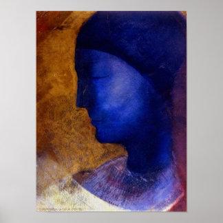 Odilon Redon, La Cellule d'Or 1892 Poster