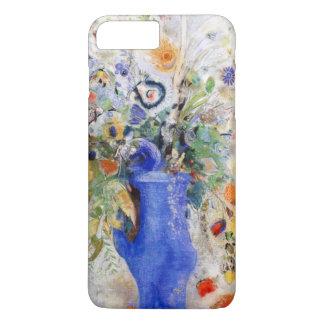 Odilon Redon - Large Bouquet in Pastel Blue Vase iPhone 7 Plus Case