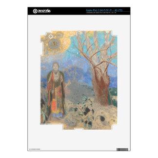 Odilon Redon: Le Bouddha, The Buddha iPad 3 Skin