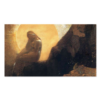 Odilon Redon- Melancholy Double-Sided Standard Business Cards (Pack Of 100)