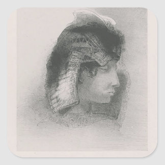 Odilon Redon- My kisses would melt in your heart! Stickers