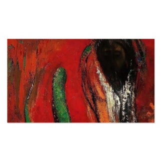 Odilon Redon- Onnes (Christ and the Serpent) Business Cards