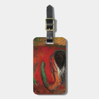 Odilon Redon- Onnes (Christ and the Serpent) Travel Bag Tags