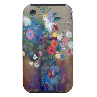Odilon Redon - ramo de flores iPhone 3 Tough Protectores