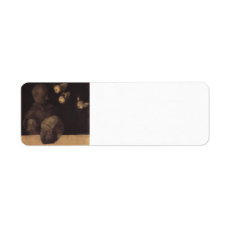 Odilon Redon- Severed head Custom Return Address Label