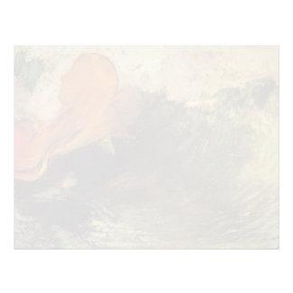Odilon Redon- The Death of Ophelia Letterhead Template