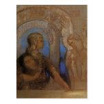 Odilon Redon- The Mystical Knight (Oedipus,Sphinx) Postcards