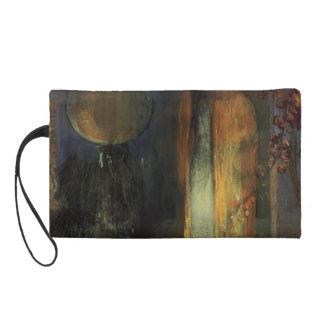 Odilon Redon- The Yellow Cape Wristlet Clutches