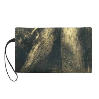 Odilon Redon- Two trees Wristlet Clutch