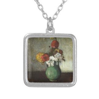 Odilon Redon- Vase of Flowers Pendant