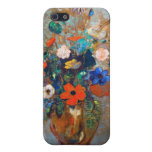 Odilon Redon - Vase with Flowers and Butterflies iPhone 5 Case