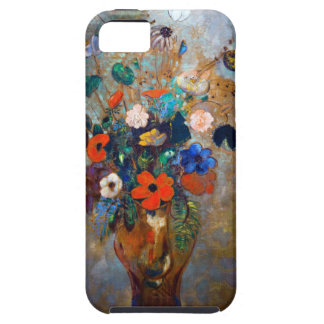 Odilon Redon - Vase with Flowers and Butterflies iPhone SE/5/5s Case