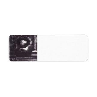Odilon Redon- Vision Return Address Label