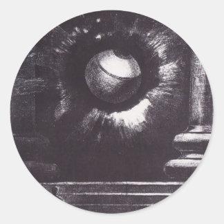 Odilon Redon- Vision Sticker