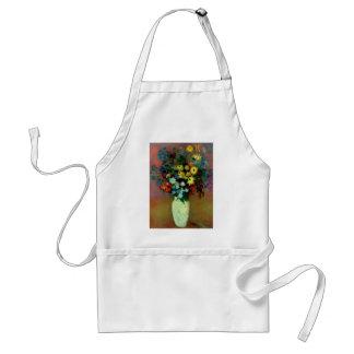 Odilon Redon's Vase with Flowers (1914) Adult Apron