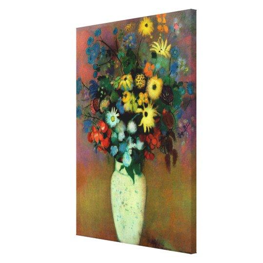 Odilon Redon's Vase with Flowers (1914) Canvas Print