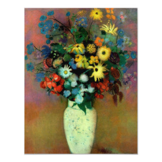 Odilon Redon's Vase with Flowers (1914) Card