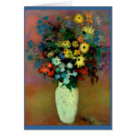Odilon Redon's Vase with Flowers (1914) Greeting Cards