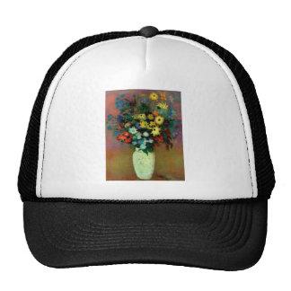 Odilon Redon's Vase with Flowers (1914) Trucker Hat