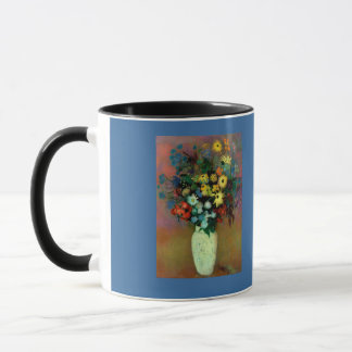 Odilon Redon's Vase with Flowers (1914) Mug