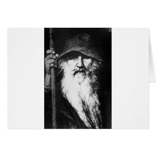 odin-3 greeting cards