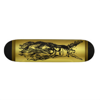 Odin - dios de los nórdises tabla de patinar