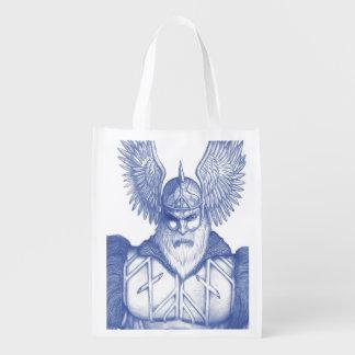 Odin el Allfather Bolsas Reutilizables