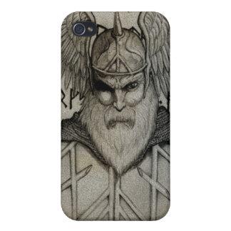 Odin el Todo-Padre iPhone 4 Carcasas